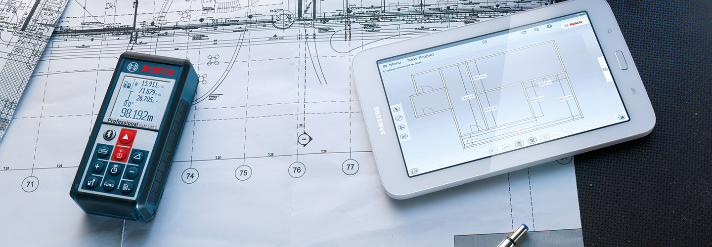 The Glm Floor Plan App From Bosch For Professionals Bosch