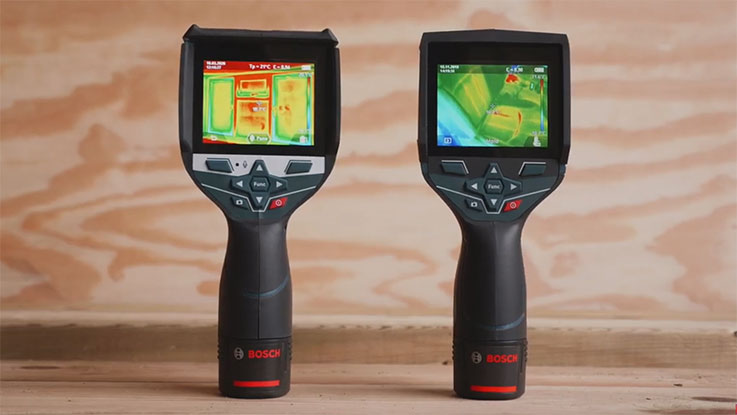 Our thermal imaging cameras – tested by PROs