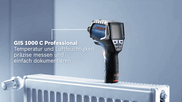 Bosch GIS 1000 C Professional thermal detector