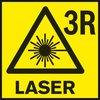 Clasă laser 3 Clasă laser pentru aparate de măsură.