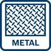 Подходит для металла