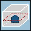Лазер GRL 500 H Быстрое выравнивание с помощью горизонтального лазерного луча 360°