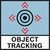 Object Tracking Displays the exact location of the detected object