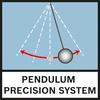 Pendulum Prec. System Прецизионная маятниковая система состоит из высокоточных закаленных фасонных деталей и оптики с амортизатором