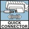 Quick Connector El cable se retira rápida y fácilmente gracias a la tecnología Quick Connector