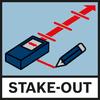 Função Stake-Out Função de marcação