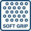 Comfortable handling of the tool thanks to softgrip