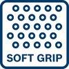 Angenehmes Arbeiten mit dem Werkzeug dank Softgrip