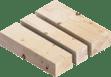 Строителен дървен материал