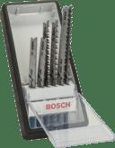 Наборы лобзиковых пильных полотен Progressor, Robust Line, 6 шт.