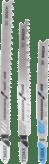 Наборы лобзиковых пильных полотен Progressor for Wood and Metal, 3 шт.