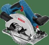 Cordless hand-held circular saws