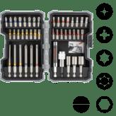 Наборы бит для шуруповерта и торцевых ключей, Extra Hard (43 компонента)