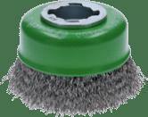 X-LOCK Topfbürsten Clean for Inox, gewellter Draht