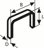 Тонкая металлическая скоба, тип 53