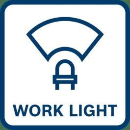 Verlichting van de directe werkplek