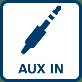 Audio-interface AUX-indgang
