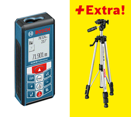 مع حامل تركيبي ثلاثي القوائم BT 150 Professional (0 601 096 B00)