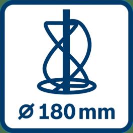 Rührmechanismus-∅ 180 mm