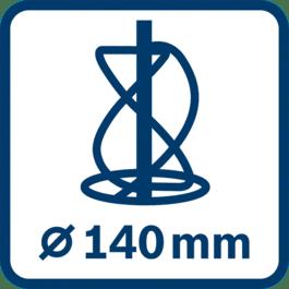 Μηχανισμός ανάδευσης ∅ 140 mm