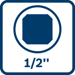 """1/2""""-Außenvierkant-Werkzeughalter"""