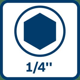 """1/4""""-Innensechskant-Werkzeughalter"""