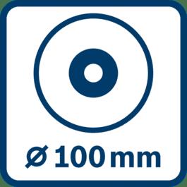 Skivediameter 100 mm