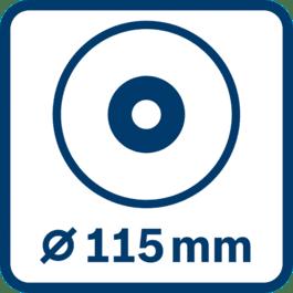 Scheibendurchmesser 115 mm