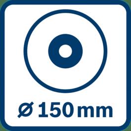 Laikan halkaisija 150 mm