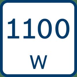 Nennaufnahmeleistung 1100 Watt