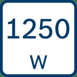 Nominālā ieejas jauda 1250 W