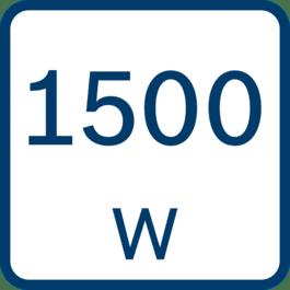 Puissance absorbée 1 500 W