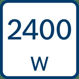 Potência nominal de entrada 2400 W