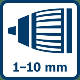 Mandrin Autolock 1,0 - 10,0 mm