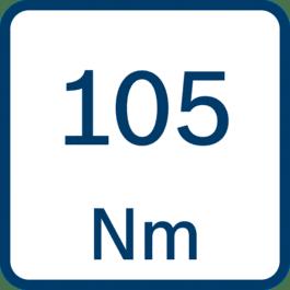 Drehmoment 105 Nm