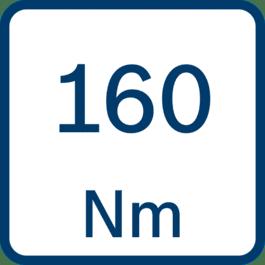 Binário 160 Nm