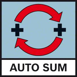 Auto Sum Lisää automaattisesti mittausarvot AutoSum-toiminnon ansiosta