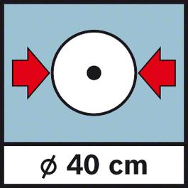 GWM 40 Diameter 40 cm Wheel diameter 40 cm