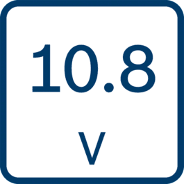 Voltage 10,8V