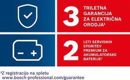 Možnost podaljšanja garancije na 3 leta