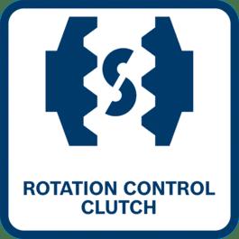 Schutz für Benutzer und Maschine gegen Überladen oder Blockieren Keine abrupte Blockade des Werkzeugs durch Entriegeln der Kupplungsklauen und Minimieren des Drehmoments