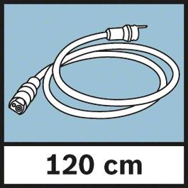 Cameracable Length 120 cm Μήκος του καλωδίου της κάμερας 120 cm