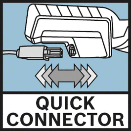 Quick Connector Retrait rapide et simple du câble par technologie Quick-Connector