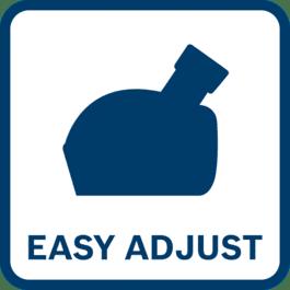 Ahorre tiempo con el montaje más rápido y sencillo Resulta especialmente adecuado para aplicaciones con cambios frecuentes de material
