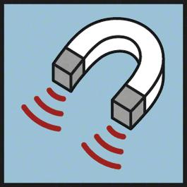 Magnetic Imanes para colocar en superficies magnéticas