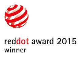 Red Dot Award Ganador del Red Dot Award 2015