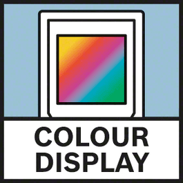 Ecrã a cores Ecrã a cores