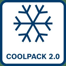 Forbedret beskyttelse av cellene – 35 % bedre kjøling enn dagens COOLPACK med forbedret varmeoverføring til den utvendige overflaten