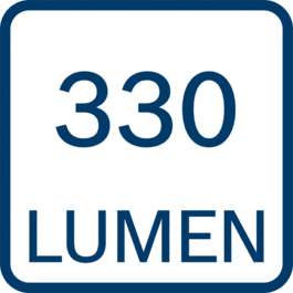 330 lumen