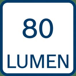 80 λούμεν